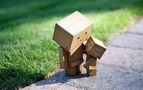 Danbo a cardboard character