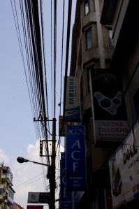 More Kathmandu wires. Photo by David Greer