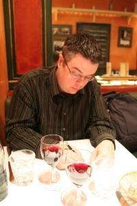 Lyon - dinner at La Francotte
