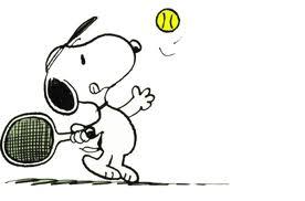 Snoopy Tennis too