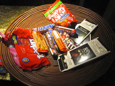 Candy bowl: after.