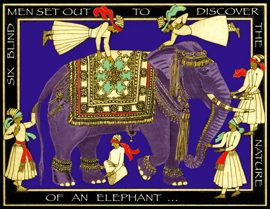 Elephant and Blind Men b