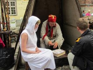 Fortune teller. Riga, Latvia