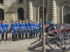 Changing of the Guard. Royal Palace, Stockholm