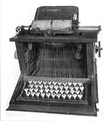1873 typewriter