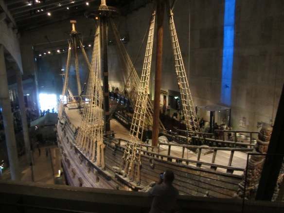 The ill-fated Vasa, Stockholm