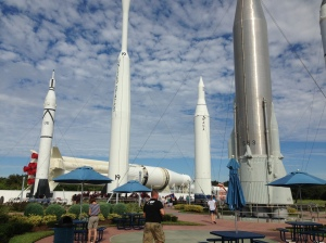 Rocket Garden at the Kennedy Space Center