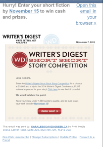 WD contest
