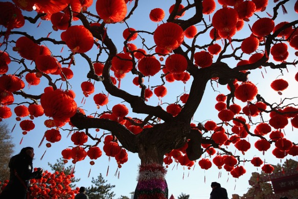 BESTPIX China Celebrate The Lunar New Year Of The Horse