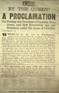 Proclamation_Canadian_Confederation
