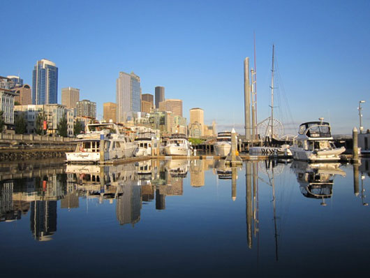 Bell Harbor Marina, Seattle (Silk Questo photo)