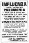 Public Service Announcement, Chicago, 1919