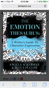 emotional thesaurus