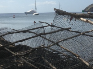 boat and nets