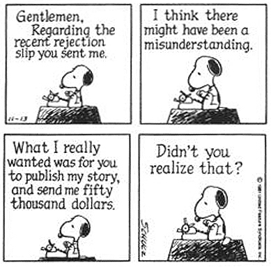 There are fewer wiser dogs than Snoopy